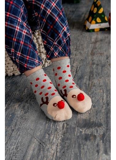 Katia & Bony New Dear Çocuk Soket Çorap  Gümüş